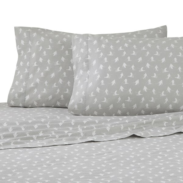 Skiiers 100% Cotton Sheet Set by IZOD